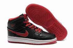 0e1e45e2fc5a6f New Air Jordan Shoes 1 Black Red