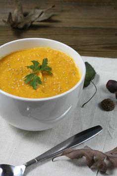Butternut Squash and Tahini Soup | refinedtastesblog.com