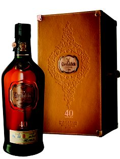Glenfiddich 40 years single malt scotch whiskey