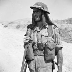 Sergeant H. Cooper, of the Highlanders of Canada, Sicily, Italy, August 1943