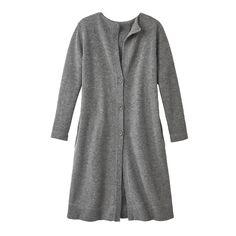 Mantel, spotted grey | Mäntel und Mützen: Nachhaltige Mode