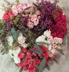 Exquisite heart wreath