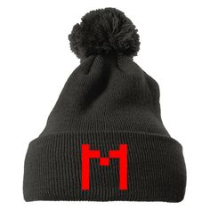 Our popular knit pom caps are unique and quality embroidered. It will keep you warm and sytlish for fashion. - Professionally designed and printed in U.S. - Classic shape. Premium wool blend - Pom pom