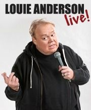 VOE FEATURE THURSDAY: Louie Anderson LIVE at the Plaza Hotel