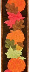 Autumn Applique Wall Hanging tutorial by AccuQuilt