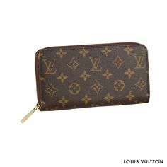 The Louis Vuitton Zippy Wallet in Monogram canvas is a classic choice that will last a lifetime.