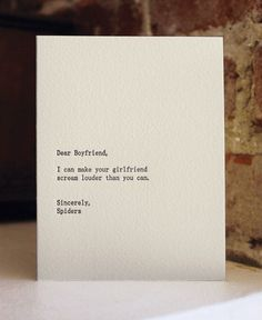 :: QUOTES :: lovely card stock printed by Sapling Press - heart! #quotes