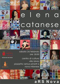 Elena Catanese in Villa Brivio