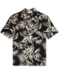 2f8bbc65 Tropical Paradise by Paradise Found - Black. Paradise FoundAloha ShirtFine  ...