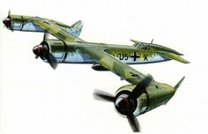 On the topic of Crimson Skies aircraft in real life. The first one is the Blohm Voss P.170, which was designed as a fast bomber and probably served as inspiration for the game's Warhawk. Second we have the Henschel P.75, a canard fighter and basis for the Bloodhawk.