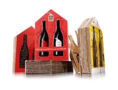 """Winehouse """"Wijnhuis"""" расшифровывается как хорошее вино, в хорошем доме на благое дело. Голландская инициатива от местного винного эксперта и дизайнерского агентства. Первый выбрал хорошее, экологически чистое, вино. Дизайнеры сделали оформление бутылки и упаковки. Для изготовления упаковки используется гофрокартон от старых винных коробок. Это благотворительный проект, вино и упаковка производится друзьями и небольшими компаниями, а прибыль будет направлена в амстердамском фонд для…"""