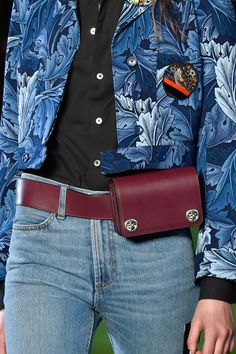 The waist bag has made a major fashion comeback. Marc by Marc Jacobs girl-power themed collection is driving the point home by allowing ladies a chic hands-free existence. And for that we thank them.