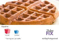 Autumn's Gluten Free Breakfast Waffle | Autumn Calabrese, Celebrity Fitness Trainer, 21 Day FIX Fitness Weightloss | Bloglovin'