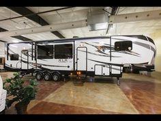 XLR Thunderbolt 380AMP 5th Wheel Toy Hauler at Cheyenne Camping Center - YouTube