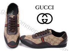 Chaussures Gucci Homme Pas Cher En Marrón/noir