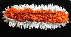 www.DanceCostumesAndJewelry.com - Three row orange white paper cloth paper hair flower for dance makeup, $ 6.10 (http://www.dancecostumesandjewelry.com/three-row-orange-white-paper-cloth-paper-hair-flower-for-dance-makeup/) #dance #jewelry #dancejewelry #dancecostumes #templejewelry #bharatanatyam #paper #cloth #hair #flower #hairflower #orange #white