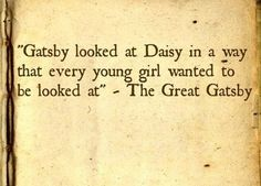 -The Great Gatsby.