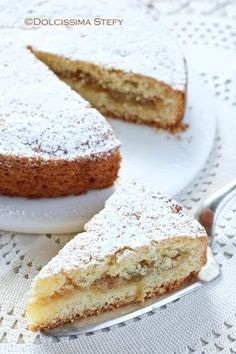 Shrink your URLs and get paid! Italian Pastries, Italian Desserts, Italian Recipes, Sweet Recipes, Cake Recipes, Dessert Recipes, Cupcakes, Cake Cookies, Crostata Recipe