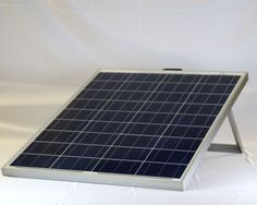 Folding solar panel charger for RVs, boats and camping the 160 Watt Folding Solar Panel is a portable and environmentally friendly way to charge batteries.