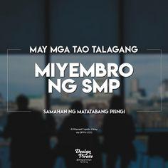 Ang hirap kumalas sa samahang ito. Hugot Lines Tagalog Funny, Tagalog Quotes Funny, Tagalog Quotes Hugot Funny, Pinoy Quotes, Filipino Quotes, Filipino Funny, Funny Hugot, Pirate Quotes, Patama Quotes