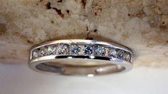 Beautiful Vintage 14K White Gold Diamond by My3LadiesJewelry, $349.99
