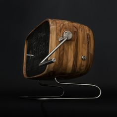 If I had 3,000 bucks to throw down for a breadbox, I suppose this would be it.  It's amazing.  Szostak on Etsy.