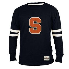 Crew Navy Shirt. Syracuse University
