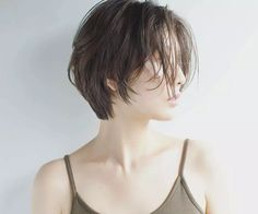 various styles of discovery design, and inspiration for hair styling skills - Page 46 of 62 - BEAUTIFUL LIFE Girl Short Hair, Short Hair Cuts, Short Hair Tomboy, Shot Hair Styles, Curly Hair Styles, Hair Inspo, Hair Inspiration, Inspo Cheveux, Korean Short Hair
