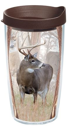 00dd62c4b971a Tervis Tumbler Great Outdoors Deer Trio Tumbler with Lid Size  16 oz.