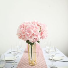 5 Bushes | 25 Heads Blush Pink Silk Hydrangea Artificial Flower Bushes Hydrangea Bush, Hydrangea Colors, Hydrangea Flower, Pink Wedding Decorations, Flower Decorations, Wedding Centerpieces, Types Of Flowers, Fake Flowers, Silk Flowers