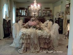 Penny's Vintage Home: Pink Pumpkins for the Cure!