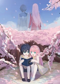 Darling In The Franxx Wallpaper, Darling In The Franxx Zero Two Darling In The Franxx Hiro Darling In The Franxx Funny Zero Wallpaper, Cute Anime Wallpaper, Manga Anime, Otaku Anime, Anime Love, Desu Desu, Tamako Love Story, Anime Lindo, Zero Two