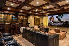 Maison Mariah Carey : la maison dispose de son propre cinéma