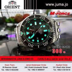 #orientwatch #orientwatches #wristwatch #DIVING #SPORT #MFORCE #DIVING_WATCHES #luxury #fashion #watch #watches #orient #online #juma #jumajordan #jumastore #amman #jordan #jo  http://goo.gl/p8YpFT