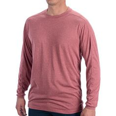 ExOfficio ExO Dri Crew T-Shirt - Long Sleeve (For Men)