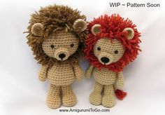 Amigurumi To Go: Lions and Updates