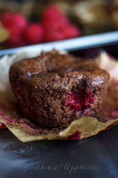 Schoko-Himbeer-Muffin