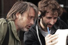 Behind the scene of Move On - Mads Mikkelsen, the danish actor on set - www.move-on-film.com