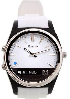 Best Bracelet 2018 Description Martian Smartwatch Martian Watches 'Notifier' Round Silicone Bracelet Smart Watch, available at Apple Watch Fashion, Rose Gold Apple Watch, Thing 1, Silicone Bracelets, The Martian, Martian Watch, Cool Things To Buy, Stuff To Buy, Digital Watch