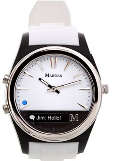 Buy Martian Notifier Smart Watch - For Women, Men(White) Online at Best Offer Prices @ Rs. 8,495/- In India. Only Genuine Products. 30 Day Replacement Guarantee. Free Shipping. Cash On Delivery!