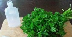 Goodbye To Wrinkles, Dark Spots and Acne This homemade lotion made of parsley leaves and lemon (or apple cider vinegar) will help you to whiten your skin and clean your face from dark spots and freckles and your skin will receive a healthy shine! Home Remedies For Hair, Younger Skin, Facial Care, Dark Spots, Vitamins And Minerals, Parsley, Beauty Care, Beauty Hacks, Skin Whitening