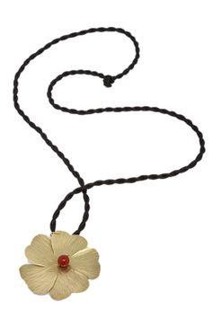 Dije Flor Piedras Varios Col Baño en Oro Andrés Rodríguez   Antes: $190,000.00, HOY: $81,000.00 Pendant Necklace, Jewelry, Rocks, Gold, Hand Made, Jewels, Jewlery, Jewerly, Schmuck