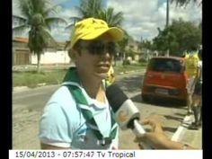 Luiza de Sá GSA 2007 e o Oasis Soledad I em Natal (RN), em parceria com os escoteiros.
