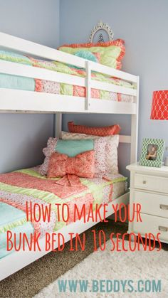 Bunk Bed Sheets And Comforters Homemade Brownies Diy Bed Bunk