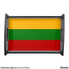 Shop Lithuania, flag serving tray created by AwesomeFlags. Lithuania Flag, Kitchen Themes, Kitchen Gifts, Flags, Tea Pots, Home Decor, Lithuania, Homemade Home Decor, Kitchen Outlets