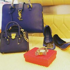 Blue is not the color of feelin blue... blue is the bold and stylish color!!!