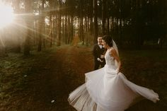 And they danced hand in hand in the light of the shimmering sun Real Weddings, Sun, Dance, Wedding Dresses, Fashion, Moda, Bridal Dresses, Alon Livne Wedding Dresses, Fashion Styles