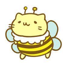 Mitchiri Neko bee cat