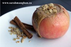 Warm baked apples filled with goodness #recipe #glutenfree