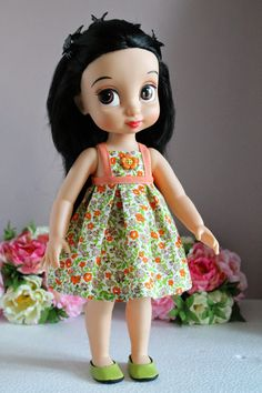 """Vêtements et accessoires pour poupées """"les Princesses Disney Animator's Collection"""""""